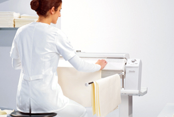 Rotary ironing machines for small business